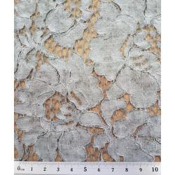 P48-Q11092-066 TEJIDO FANTASIA STONELA (04) 1.45 M. ALGODON 50%-VISCOSA 25%-PA 25% GRIS VENTA EN PZAS. DE 6 M. APRO