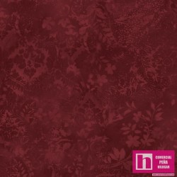 P17-MASQBD105-M PATCH.AMERICANO BEAUTIFUL BACKING VINTAGE DAMASK (04) 270 CM. ALG 100% GRANATE VENTA EN PZAS. DE 7 M APRO