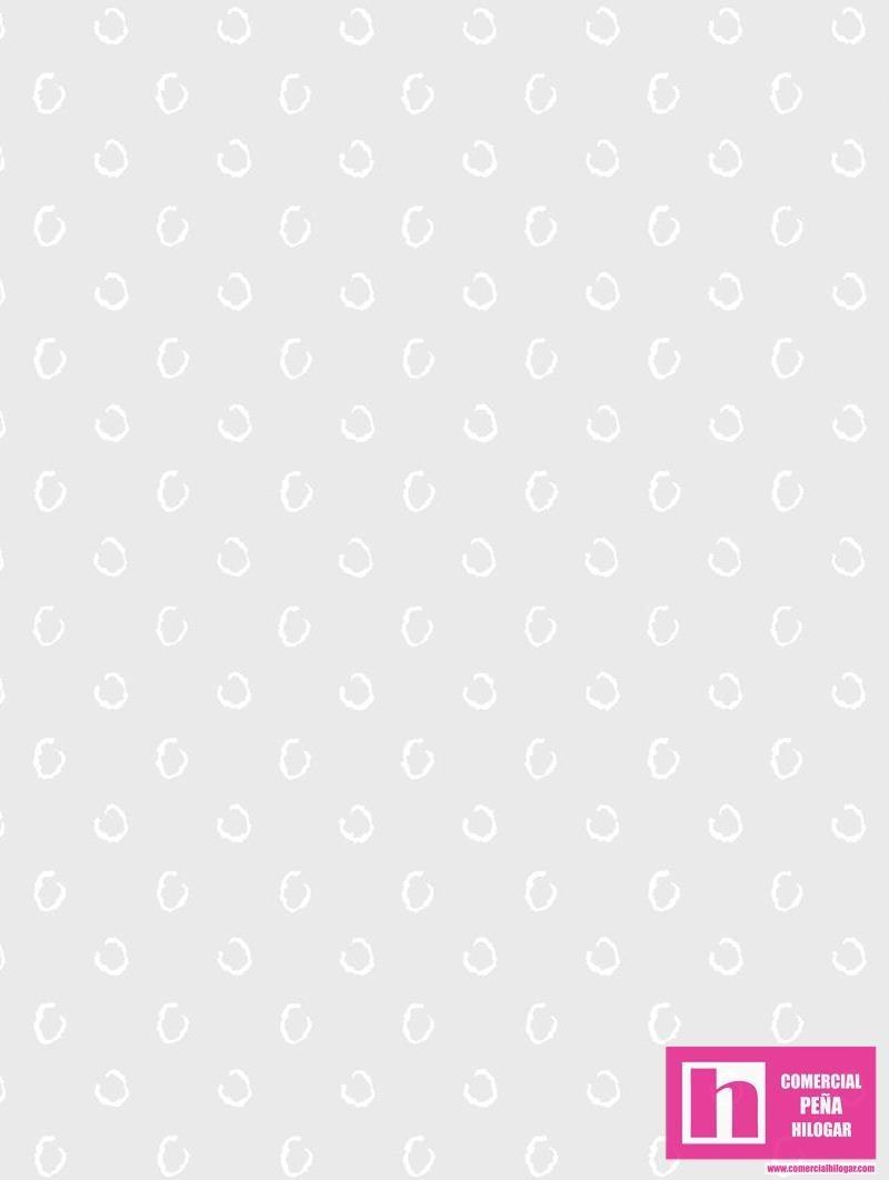 P122-51691-2 PATCH. AMERICANO SIMPLY WHITE (04)  110 CM. ALGODON 100% PLATA VENTA EN PZAS. DE 7 METROS APRO