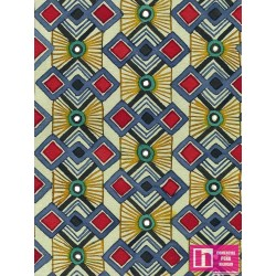 61944 PATCH.AMERIC. FASHION IN PARIS - SIMON ADAMS COLLECTION - DIGITAL (04) 110 CM. ALG 100% MULTI VENTA EN PZAS. DE 7 M APRO