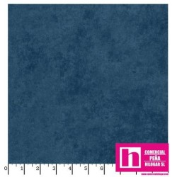 P17-MASQB410-B2 PATCH. AMERICANO BEAUTIFUL BACKING SUEDE TEXTURE (06) 270 CM. ALG 100% AZUL VENTA EN PZAS. DE 7 M APROX.