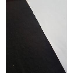 P48-MR1067-069 VISCOSA LISA SAND (08) 1.60 M. VISCOSA 55%-POLIAMIDA 45% NEGRO VENTA EN PZAS. DE 6 M APROX.
