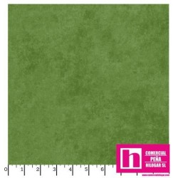 P17-MASQB410-G2 PATCH. AMERICANO BEAUTIFUL BACKING SUEDE TEXTURE (04) 270 CM. ALG 100% VERDE VENTA EN PZAS. DE 7 M APROX.