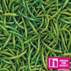 P23-120-13251 PATCH. AMERICANO FARMER JOHNS GARDEN PARTY (10) 110 CM. ALG 100% JUDIAS VENTA EN PZAS. DE 7 M APROX.