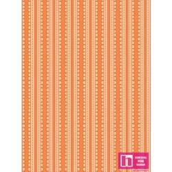 P121-24112 ORA1 PATCH. AMERICANO BASICALLY HUGS (22)  110 CM. ALG 100% NARANJA VENTA EN PZAS. DE 4.50 M APRO