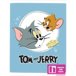 P108-24160114P-01 PATCH. AMERICANO TOM AND JERRY  (11) PANEL 110 CM. ALG 100% MULTI VENTA EN PZAS. DE 7 M APRO