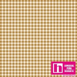 P0017-MAS610-S2 PATCH. AMERICANO BEAUTIFUL BASICS-CLASSIC CHECK (53) 110 CM. ALG 100% TRIGO/BLANCO VENTA EN PZAS. DE 7 M