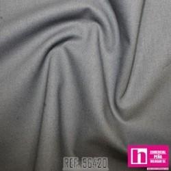 56420 PATCH.AMERIC. NEW PRAIRIE CLOTH (73) 110 CM. ALG 100% GRIS VENTA EN PZAS. DE 6 M APROX.