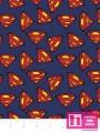 P108-23400704-02 PATCH. AMERICANO SUPERMAN (09) 110 CM. ALG 100% MARINO VENTA EN PZAS. DE 7 M APROX.
