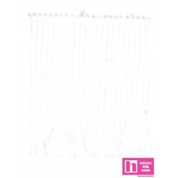 130500-80-1 PUÑO ELASTICO NEKANE 75 MM. ELASTICO 80 CM BLANCO VENTA EN CAJA DE 4 UNIDADES