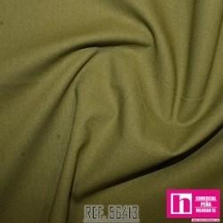 56413 PATCH.AMERIC. NEW PRAIRIE CLOTH (66) 110 CM. ALG 100% OLIVA VENTA EN PZAS. DE 6 M APROX.