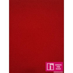 51065 FABIO PAÑO LISO (11) 1.50 M. POL.90%-FIBRA 7%-SPANDEX 3% ROJO VENTA EN PZAS. DE 8 M APROX.