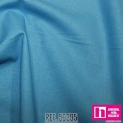56395 PATCH.AMERIC. NEW PRAIRIE CLOTH (48) 110 CM. ALG. 100% TURQUESA VENTA EN PZAS. DE 6 M APROX.