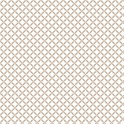 P108-21001-0088 PATCH. AMERICANO CAMELOT BASIC (60) 110 CM. ALGODON 100% BLANCO/MARRON VENTA EN PZAS. DE 7 M. APRO