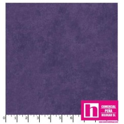 P17-MASQB410-V PATCH. AMERICANO BEAUTIFUL BACKING SUEDE TEXTURE (08) 270 CM. ALGODON 100% MORADO VENTA EN PZAS. DE 7 M. APROX.