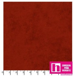 P17-MASQB410-R PATCH. AMERICANO BEAUTIFUL BACKING SUEDE TEXTURE (02) 270 CM. ALGODON 100% SANGRE VENTA EN PZAS. DE 7 M. APROX.
