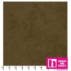 P17-MASQB410-A PATCH. AMERICANO BEAUTIFUL BACKING SUEDE TEXTURE (14) 270 CM. ALGODON 100% MARRON VENTA EN PZAS. DE 7 M. APROX.