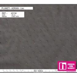 43134 ADRIAN PLUMETI LISO (17) 145 CM. ALGODON 100% MARENGO VENTA EN PZAS. DE 7 M. APROX.