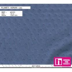 43131 ADRIAN PLUMETI LISO (13) 145 CM. ALGODON 100% CENIZA VENTA EN PZAS. DE 7 M. APROX.